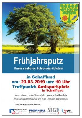 Foto zur Meldung: Frühjahrsputz - Aktion Saubers Dorf