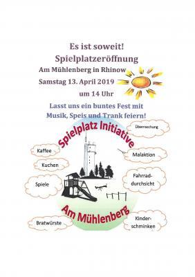 Einladung zum Eröffnungsfest