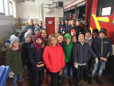 Vorschaubild zur Meldung: Brandschutzerziehung in den dritten Klassen