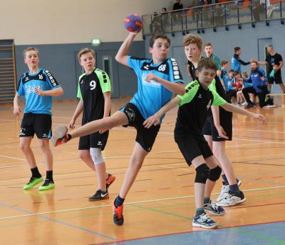 Vorschaubild zur Meldung: D-Jugend verbucht Sieg gegen SG Chemnitzer HC