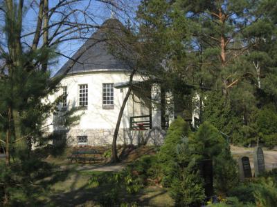 Kapelle auf dem Waldfriedhof in Rangsdorf