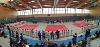 Foto zur Meldung: 22. Kinder- und Jugendsportspiele im Landkreis OSL - Judo