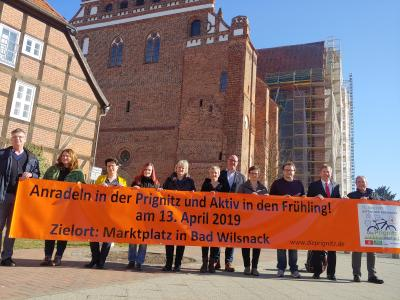 Die Sternfahrt führt in diesem Jahr nach Bad Wilsnack  I Foto: Tourismusverband Prignitz e.V./Michelle Köster