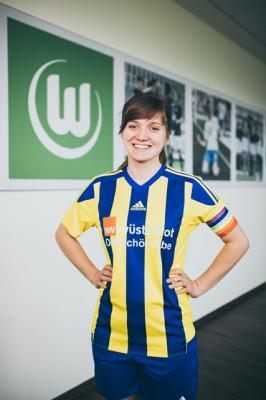 Foto zur Meldung: Gemeinsam gegen Ausgrenzung - VfL Wolfsburg setzt mit Partnervereinen ein buntes Zeichen.