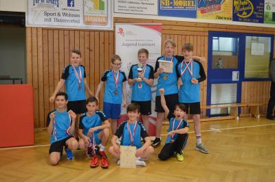 Foto zur Meldung: Kreis- und Regionalfinale im Handball WK IV m in Lübbenau