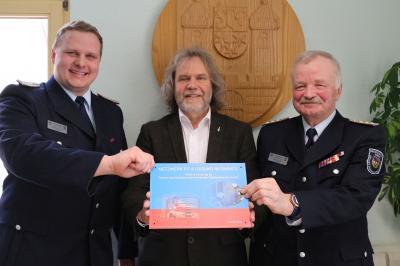 Foto zur Meldung: Stadt Calau und Kreisfeuerwehrverband schmieden Kooperation