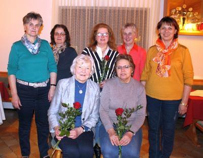 Vorschaubild zur Meldung: Der Frauenbund traf sich zur Jahreshauptversammlung