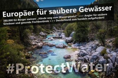 Foto zur Meldung: # PROTECTWATER -Pressemitteilung des DAFV
