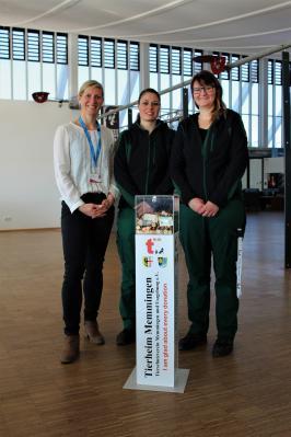 Spendenbox Leerung mit Katrin Ettmüller