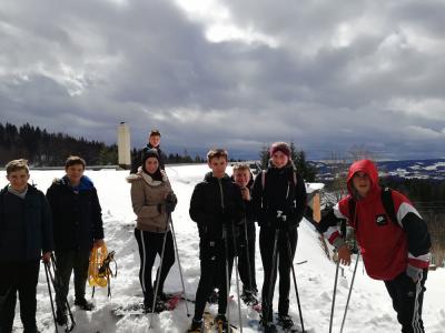 Schneeschuhwandern zum Dreisessel