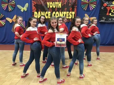 Vorschaubild zur Meldung: Die B-Steps beim Youth Dance Contest