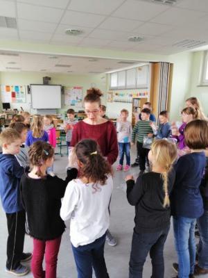 Foto zur Meldung: Projekttag der 3. Klassen