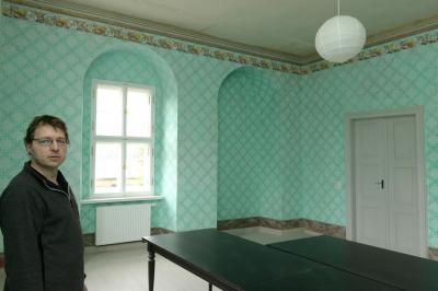 Foto zur Meldung: Schwarzbacher Gutshaus wachgeküsst
