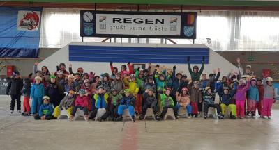 Foto zur Meldung: Zweiter Wintersporttag in der Grundschule