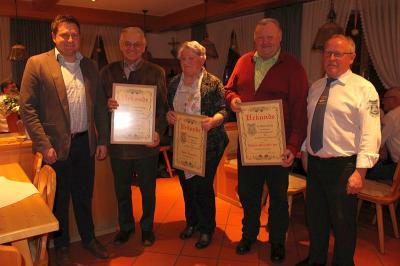 Foto zur Meldung: Lob von Bürgermeister für den Handwerkerverein
