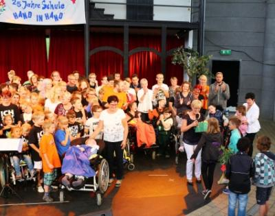 Foto zur Meldung: 25 Jahre Hand in Hand Schule- ein grandioses Geburtstagsfest