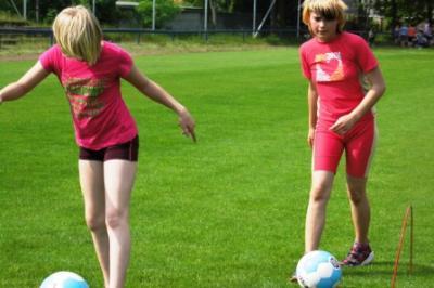Foto zur Meldung: Fußballtraining