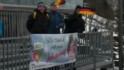 Foto zur Meldung: 2 x Platz 4 für Johannes Ludwig bei der Weltmeisterschaft in Winterberg