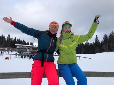 Foto zur Meldung: DSV e. Intra Schülercup Nordic Arena Notschrei.