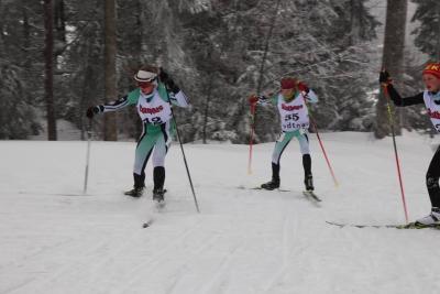 Foto zur Meldung: Deutscher Schüler Cup Biathlon in Notschrei