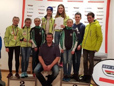 Foto zur Meldung: Schüler Cup Biathlon Oberhof