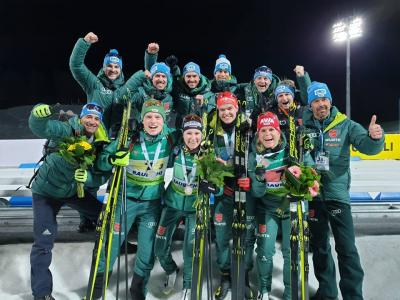 Foto zur Meldung: EM Biathlon