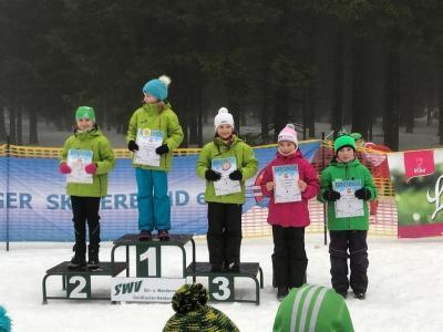 Foto zur Meldung: Beerbergpokal, Thüringer Meisterschaft und 6. Thüringer Langlauf Cup