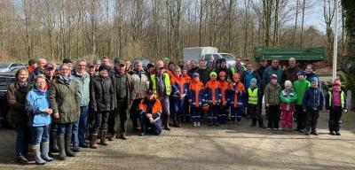 """Vorschaubild zur Meldung: Aktion """"Saubere Gemeinde"""" der CDU Pohnsdorf"""