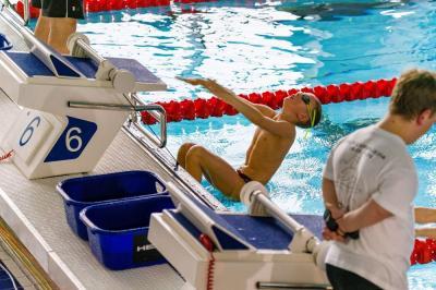 Foto zur Meldung: Offene Sächsische Landesmeisterschaften im Schwimmen