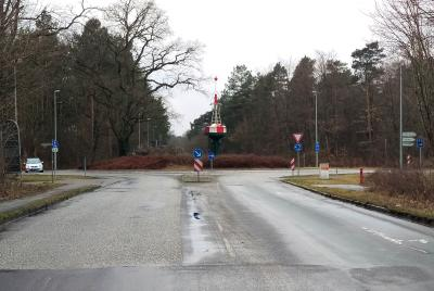 Vorschaubild zur Meldung: Kreisel Hegelstraße wird saniert. Bauarbeiten von April bis Juni