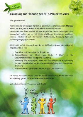 Vorschaubild zur Meldung: Mitreden, Mitplanen und Mitmachen - Einladung zur Planung des Gesundheitsprojektes