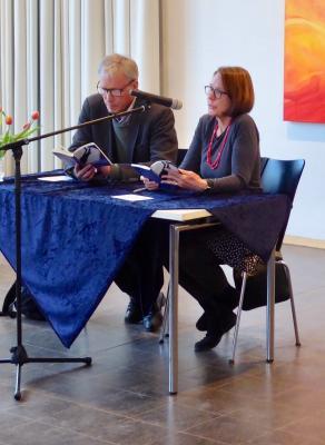 Urs Hardegger und Germaine Stucki (Zürich) lasen aus ihrem neuen Buch