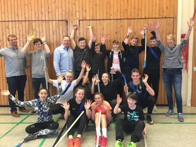 Vorschaubild zur Meldung: Schulsportassistenten-Ausbildung in der Hohlbeinschule Delmenhorst