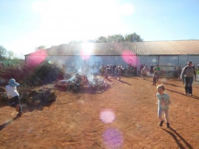 Vorschaubild zur Meldung: Das war das 6. Osterfeuer im STC