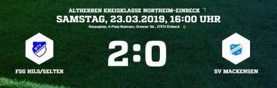 Vorschaubild zur Meldung: Altherren verlieren 0:2 bei der FSG Hils/Selter