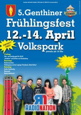 Vorschaubild zur Meldung: 5. Genthiner Frühlingsfest lädt Groß und Klein in den Volkspark ein