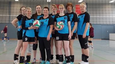 Foto zur Meldung: Volleyballerinnen schließen Saison mit dem zweiten Platz ab