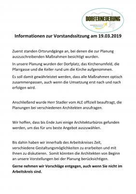 Vorschaubild zur Meldung: Info zur DE-Vorstandssitzung 19.03.19
