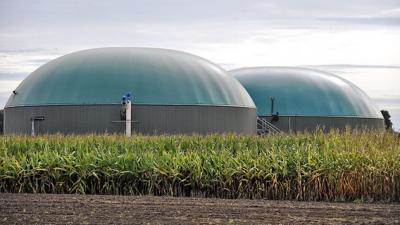 Foto zur Meldung: Mehr Biogas in Zens