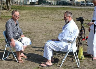 Foto zur Meldung: Interessante Begegnung beim Kombi-Seminar in Wittenberg