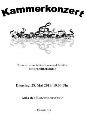 Vorschaubild zur Meldung: Einladung zum Kammerkonzert