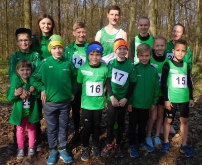 Foto zur Meldung: Kreiswaldlaufmeisterschaften