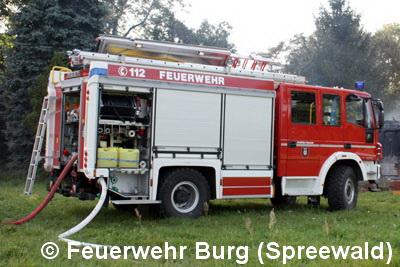 Vorschaubild zur Meldung: Einsatz Nr. 35/2019 - Brand vor Nebengebäude