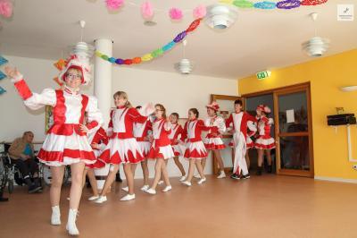Foto zur Meldung: Der SKC zu Besuch im Strahlendorfer Seniorenheim