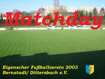 Vorschaubild zur Meldung: Das Fußballwochenende( 06.04.- 08.04.2019) auf dem Eigen