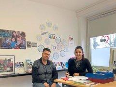 Herr Barakat mit Frau Umarova