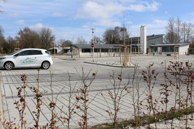 Foto zur Meldung: Ostereier-Suche auf dem Amtsparkplatz