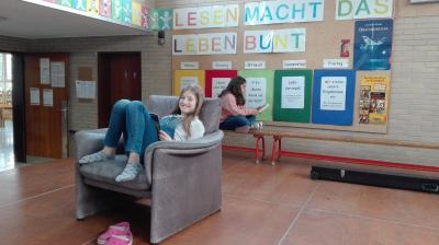 """Vorschaubild zur Meldung: """"Lesen macht das Leben bunt"""" - Die Nordschule geht zum elften Mal auf Lesereise!"""