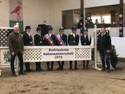 Vorschaubild zur Meldung: Erfolgreiche Ostfriesische Hallenmeisterschaften in Bunde