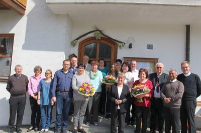 Foto zur Meldung: Verabschiedung von 4 Kirchenverwaltungsmitgliedern